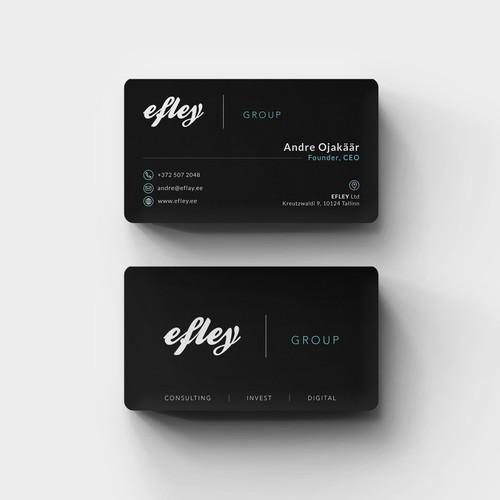 Elegant Sleek Business Card