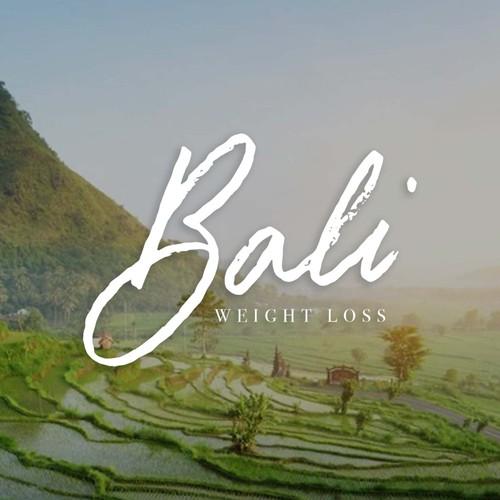 Handlettered logo design for Bali Weight Loss