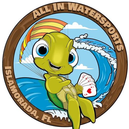 water sport mascot