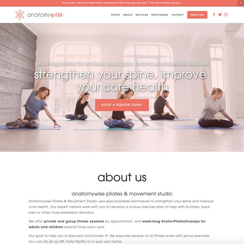 Anatomywise Pilates & Movement Studio