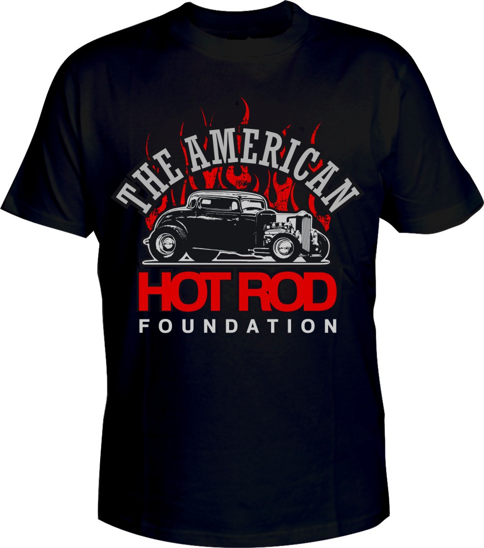 Non-Profit American Hot Rod Foundation Flame T-Shirt