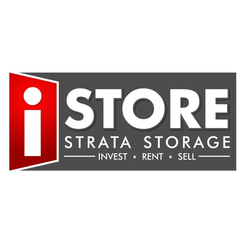 Create a serious self storage management company logo