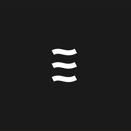 letter E wave