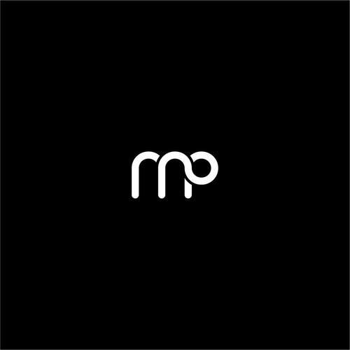 initials logo M and P