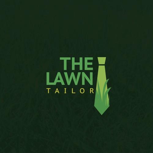 Unique logo for lawn company