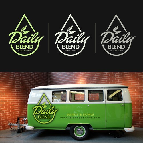 Unique Logo Design for Healthy Food Truck