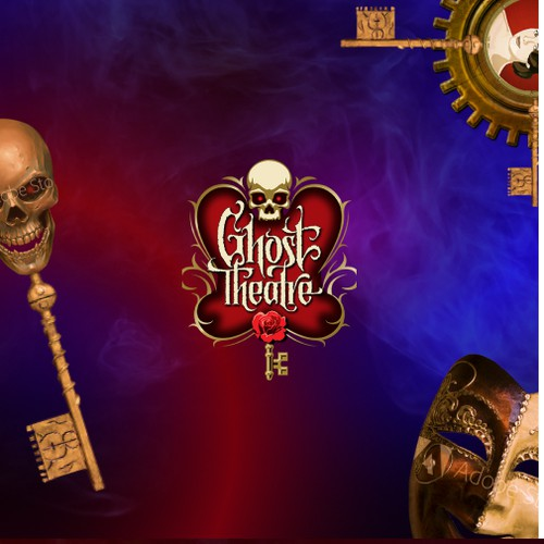 Web design for Ghost Theatre