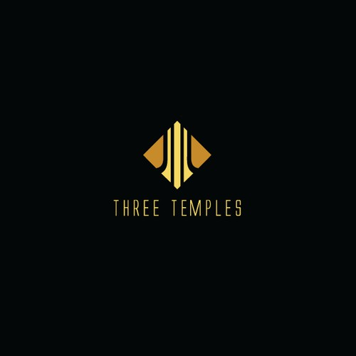 Logo Design for Three Temples