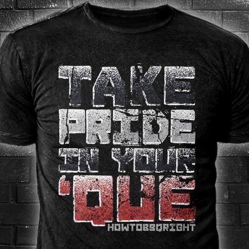 Bold Text t-shirt Design