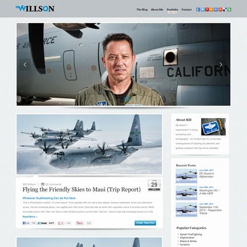 billwillson.com needs a new website design