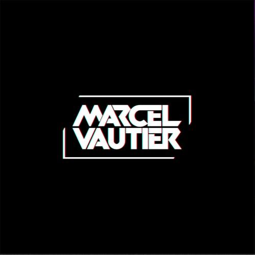 Bold, masculine dj logo for Marcel Vautier