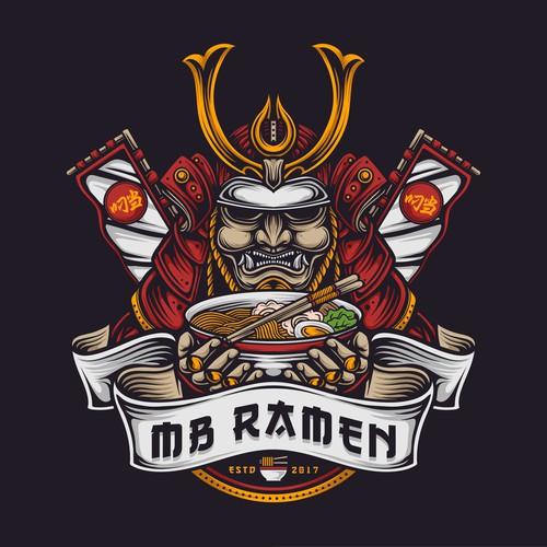 MB Ramen logo