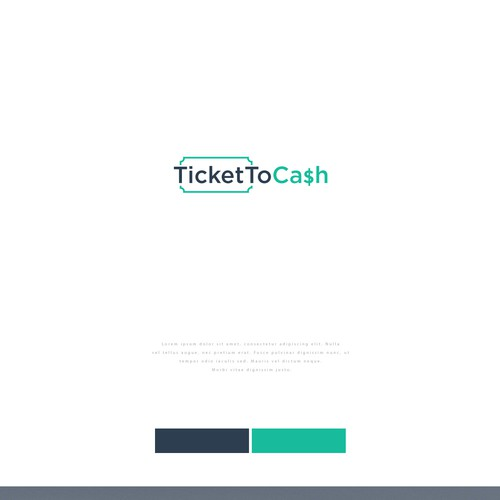 Logo Design for Ticket to Cash