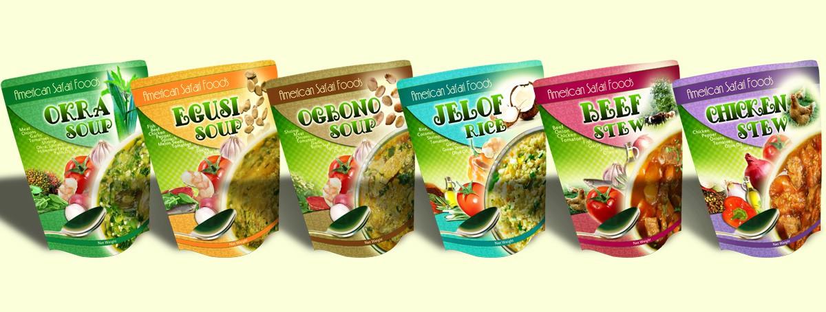 New print or packaging design wanted for American Safari Foods LLC