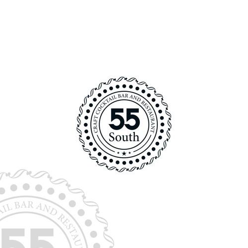 simple desain logo clasic