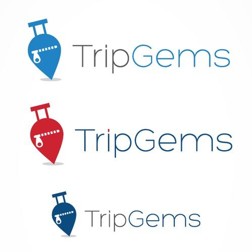 minimal Logo for  Social travel Startup