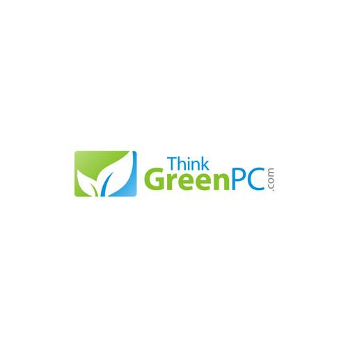 Create the next logo for Think Green PC (ThinkGreenPC.com)