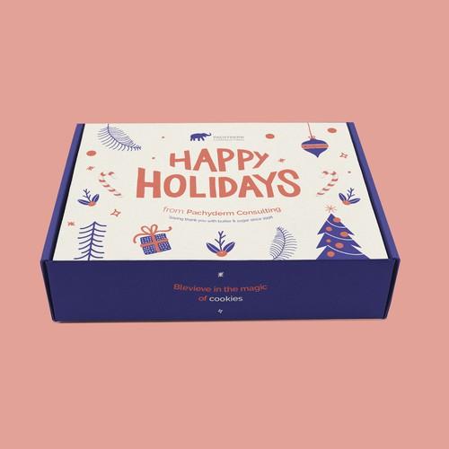 Christmas / Holidays Gift Box