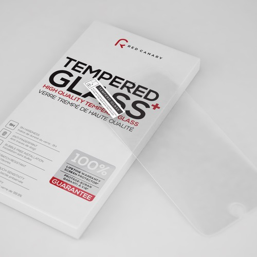 Tempered glass Rendering