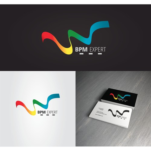 logo and business card para 3W