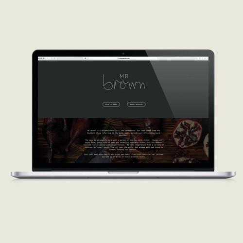 Website Design & Development for Mr Brown