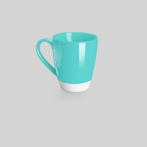 A cup art)