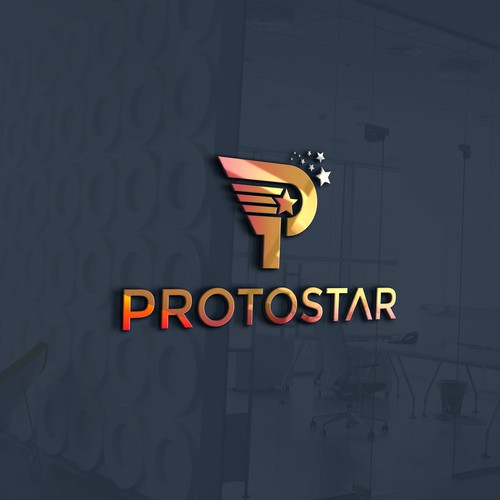 "Design a cosmic logo for ""Protostar"" - Trekkies welcome :)"