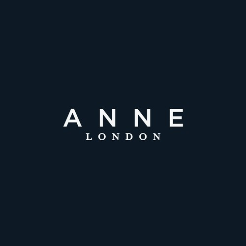 Minimalist logo for a London Fashion Store