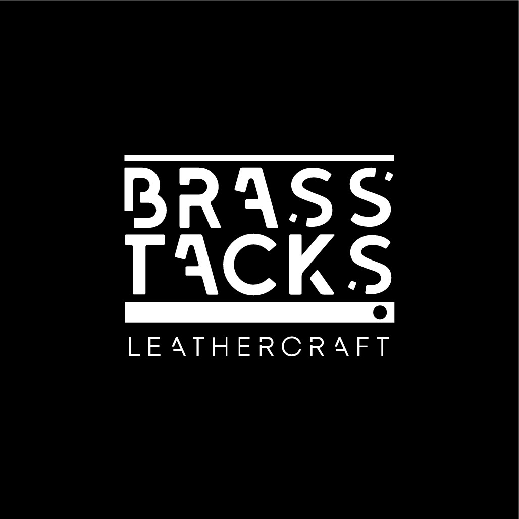 BRASS TACKS: Mens leather bags, wallets, belts, etc.
