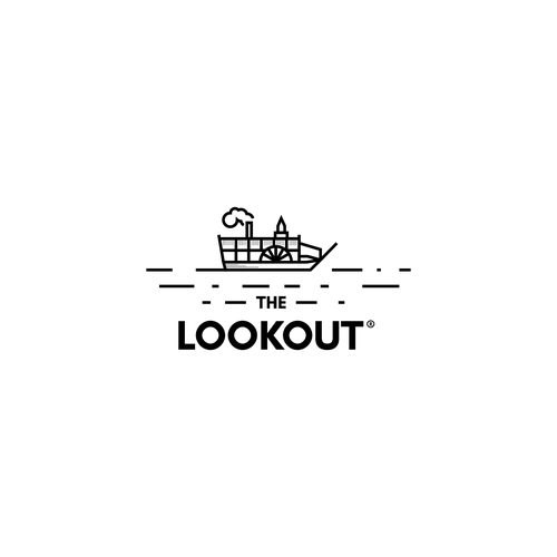 Logo concept for rooftop bar.