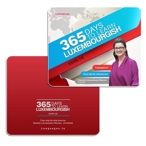 Language card design