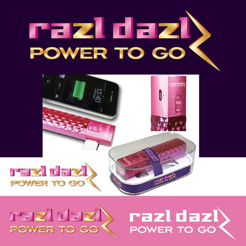 RAZL DAZL for the bling bling portable charger