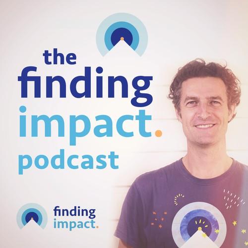 Podcast cover and logo design