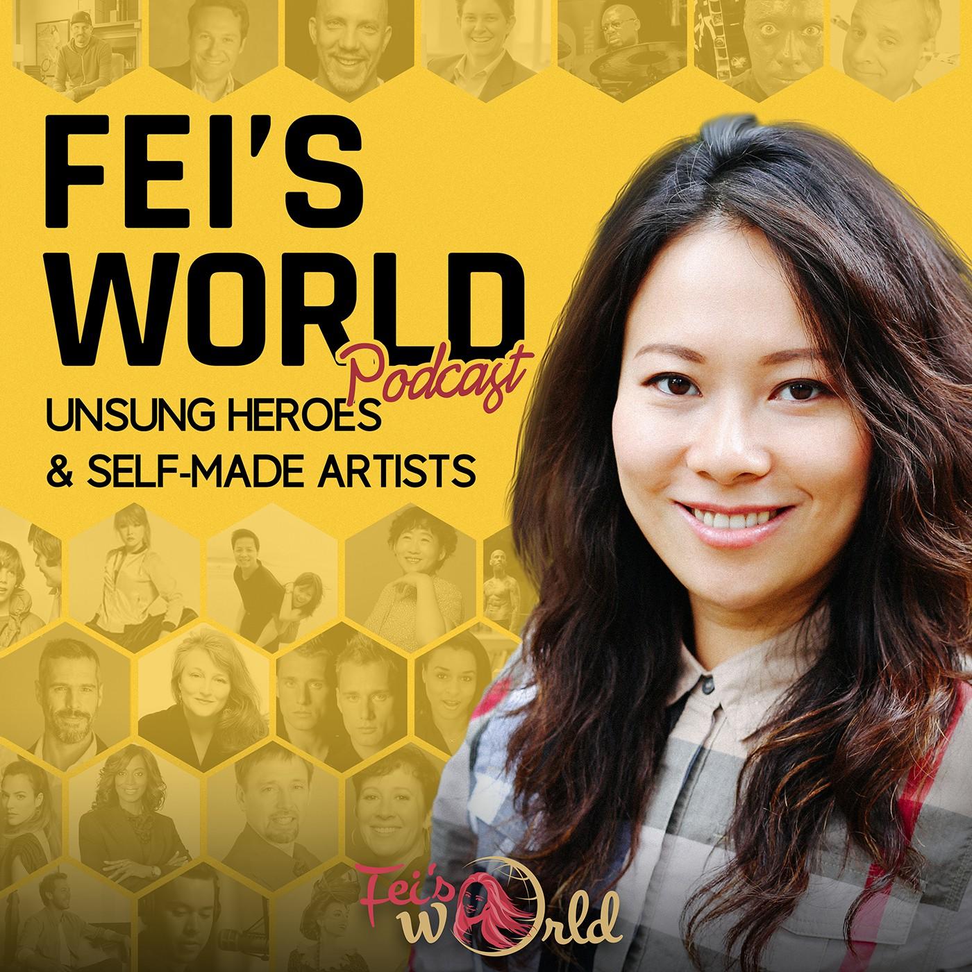 Design a Podcast Cover Art for Feisworld Podcast