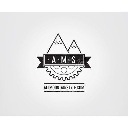 Logo needed for new MTB parts brand. All Mountain Style