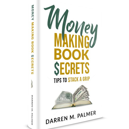 Book cover for a book about making money with writing a book.