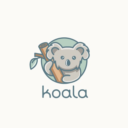 Koala logo concept