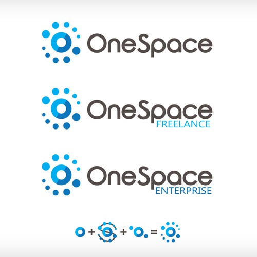 Abstract Logo for OneSpace