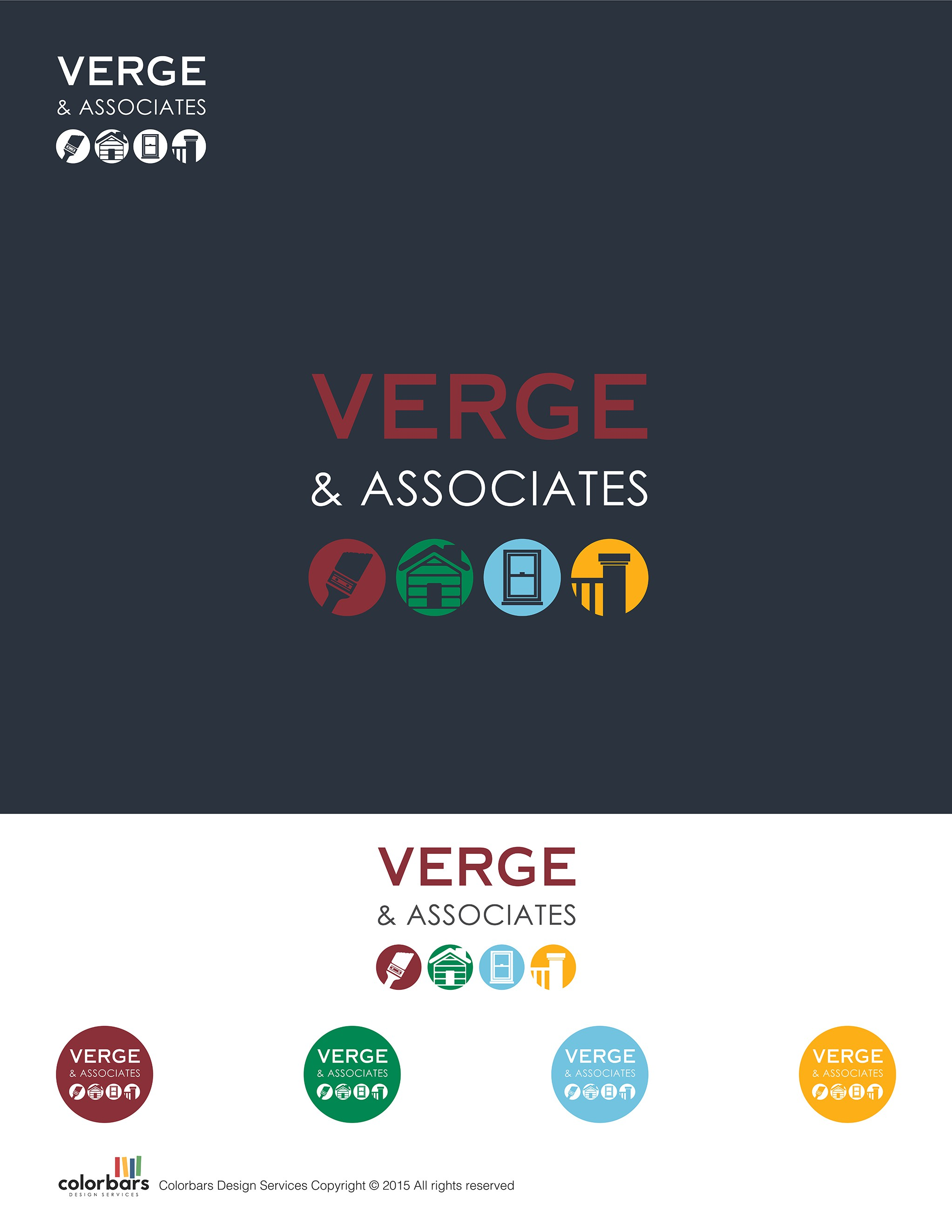Verge Logo design - please read detailed notes in other section!
