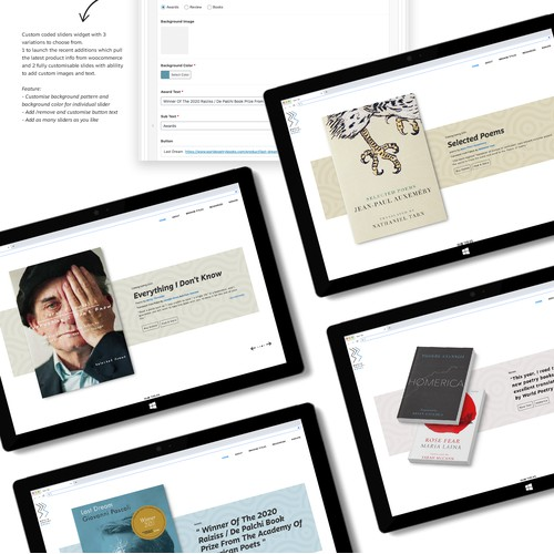 Wordpress theme design and Development for Book publisher