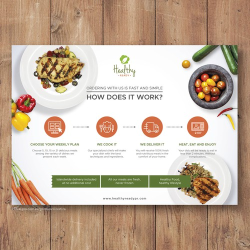 Flyer Design for Healthy Ready