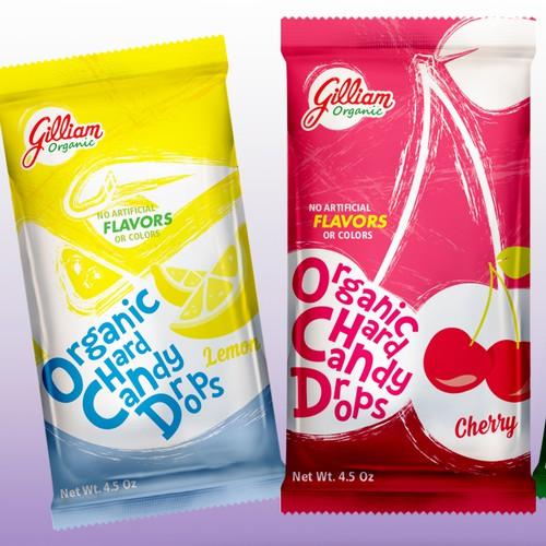 Organic Hard Drops Candy