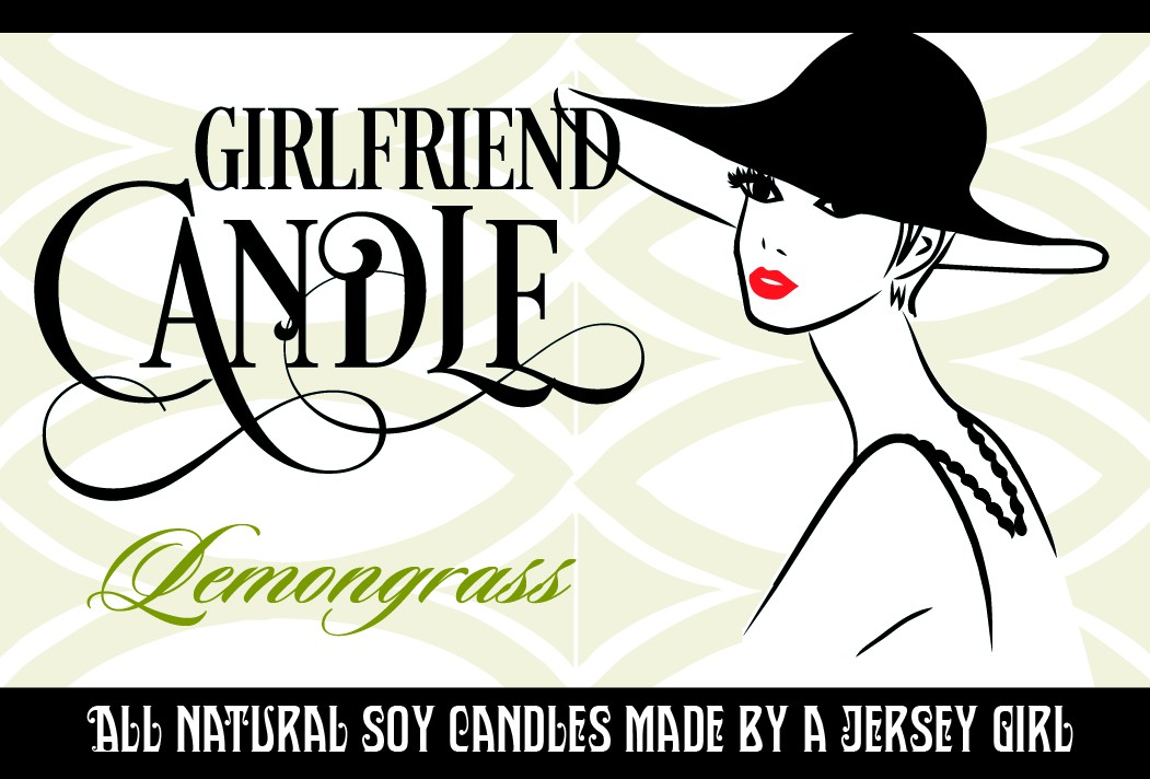 Girlfriend Candle