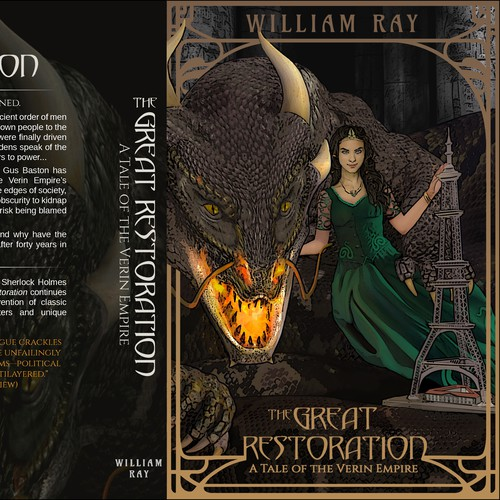 Book cover for THE GREAT RESTORATION