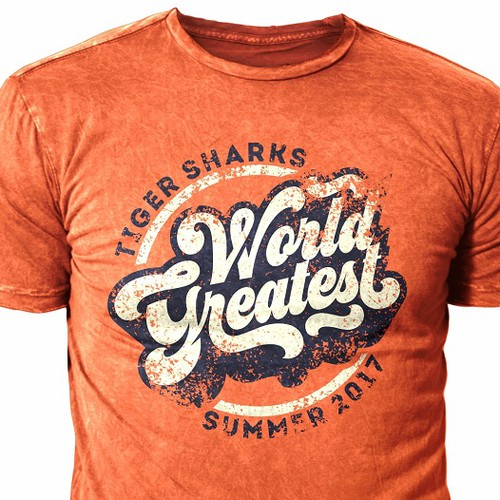 Great Vintage Retro Tshirt Logo Design