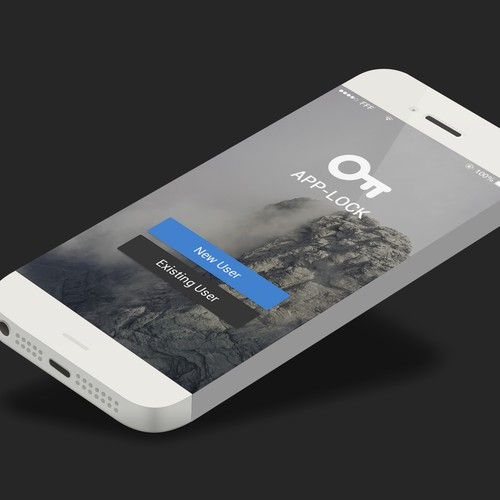 Login Splash screen for AppLock