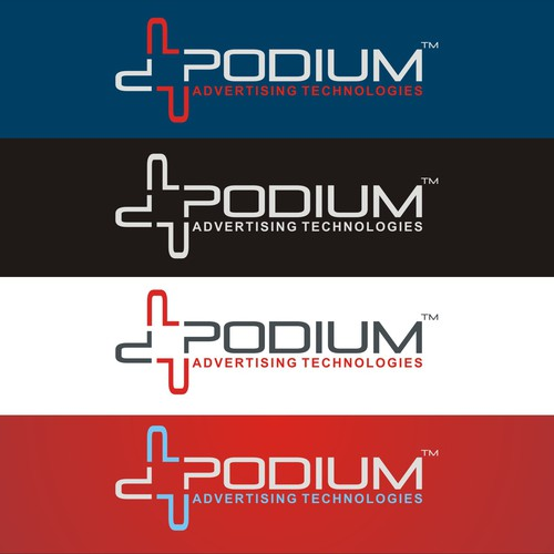 Winning design for Podium