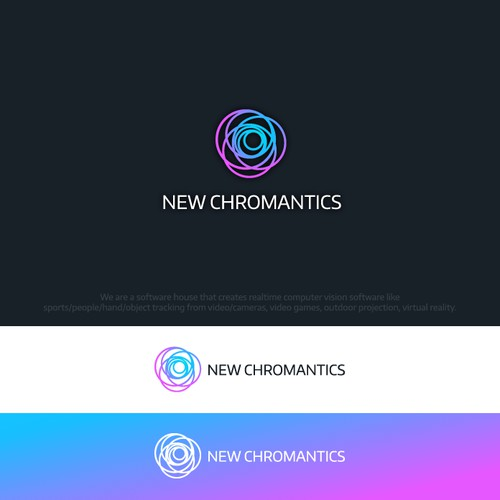 Colorful Logo for The New Chromantics