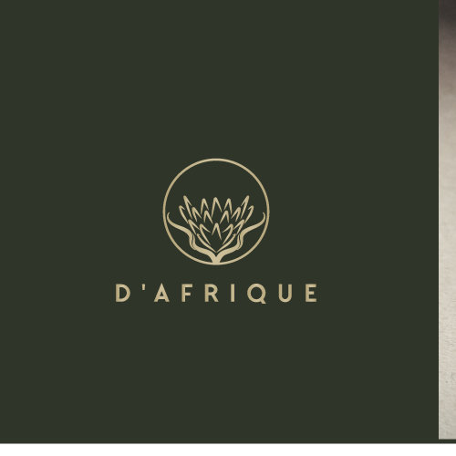 Logo for leather goods made from unique wild African leathers