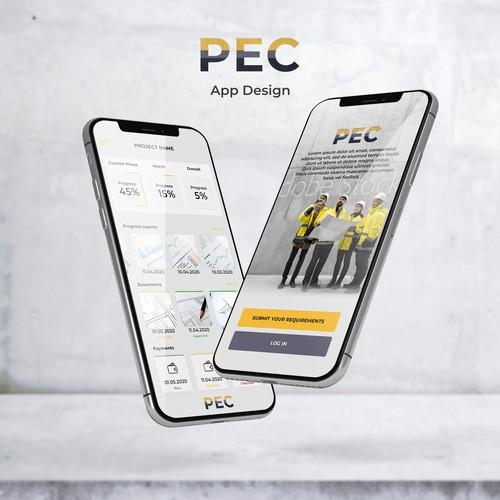 PEC App Design